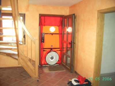 blower door test wann durchf hren dynamische. Black Bedroom Furniture Sets. Home Design Ideas